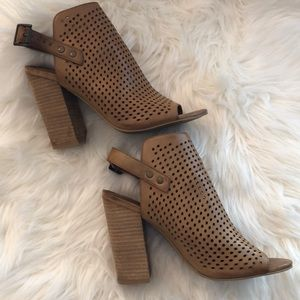 Altar'd State Peep Toe Booties Size 8.5